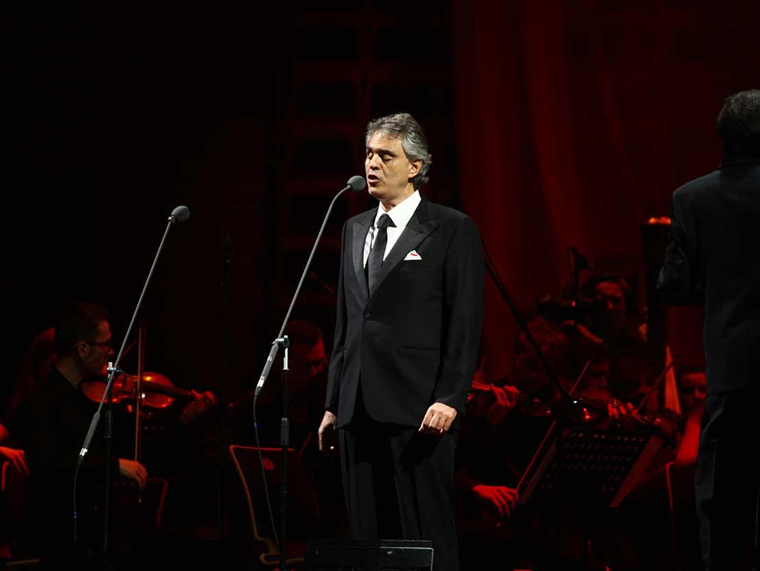 Andrea Bocelli Venice