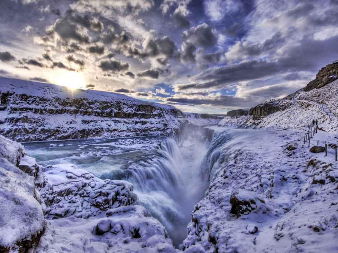 Atlantic Gullfoss Matador Iceland