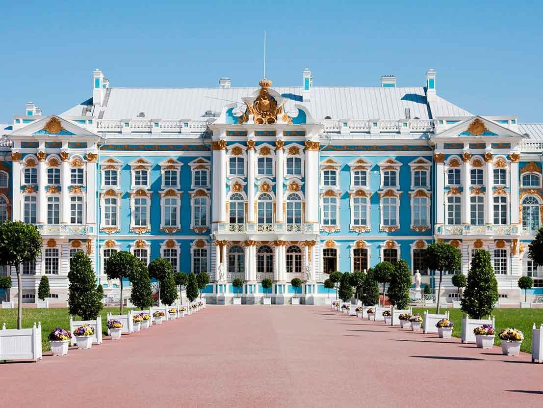 Catherine Palace Tsarskoe Selo St Petersburg