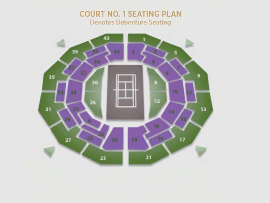 Court Seating Plan