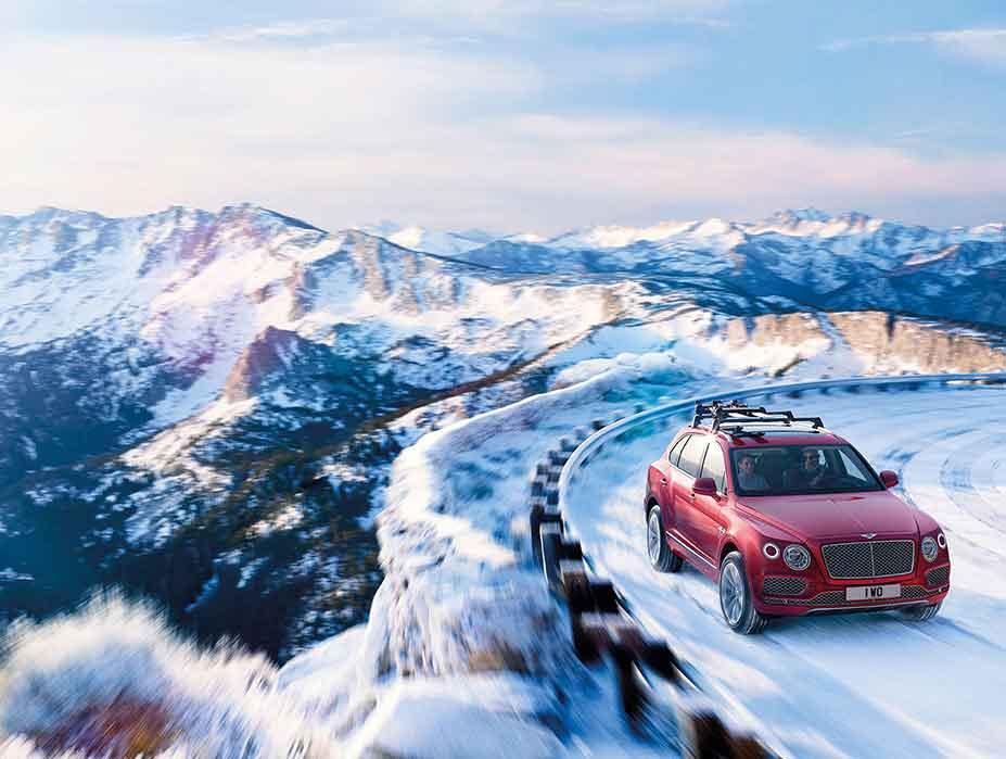 Driving Swiss Bernese Alps