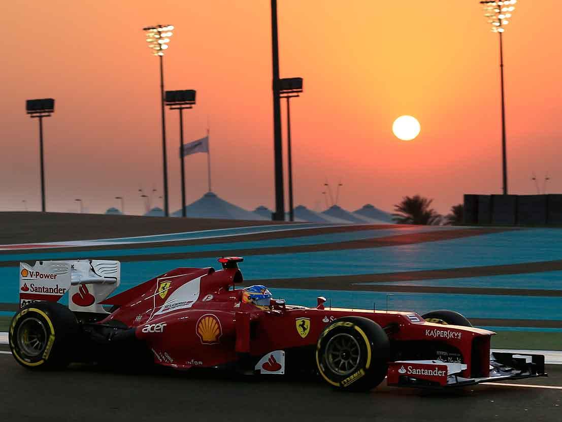 Formula Racer Abu Dhabi