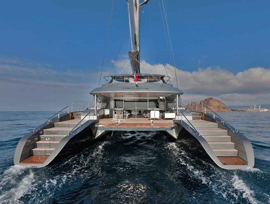 Luxury Catamaran Sicily