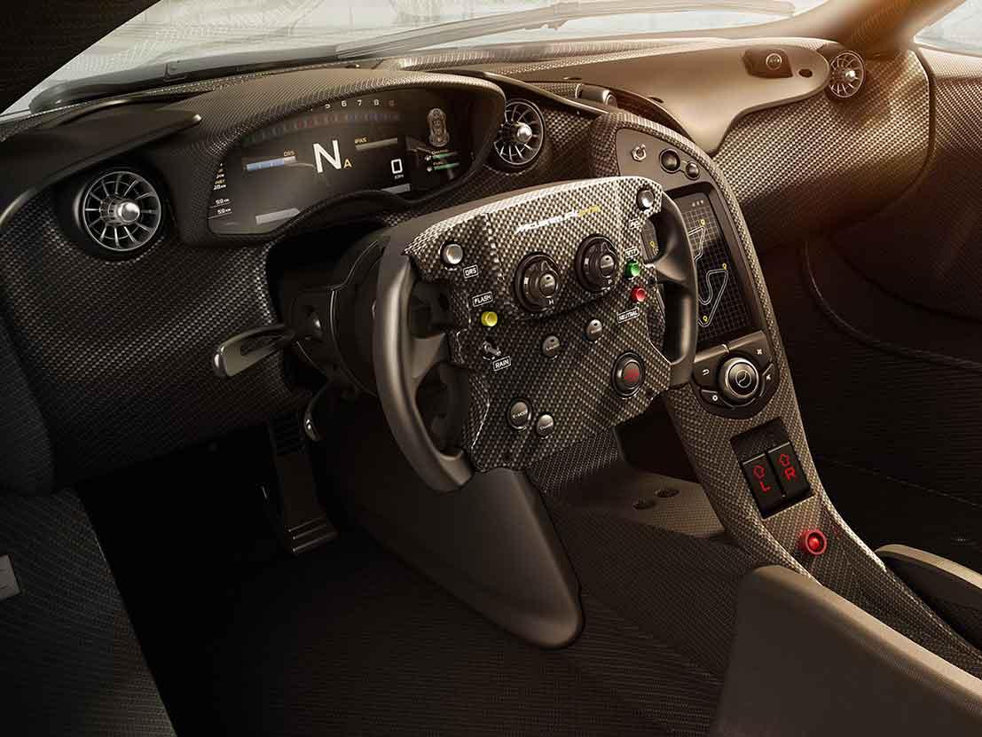 Mclaren P1 GTR Testing Interior