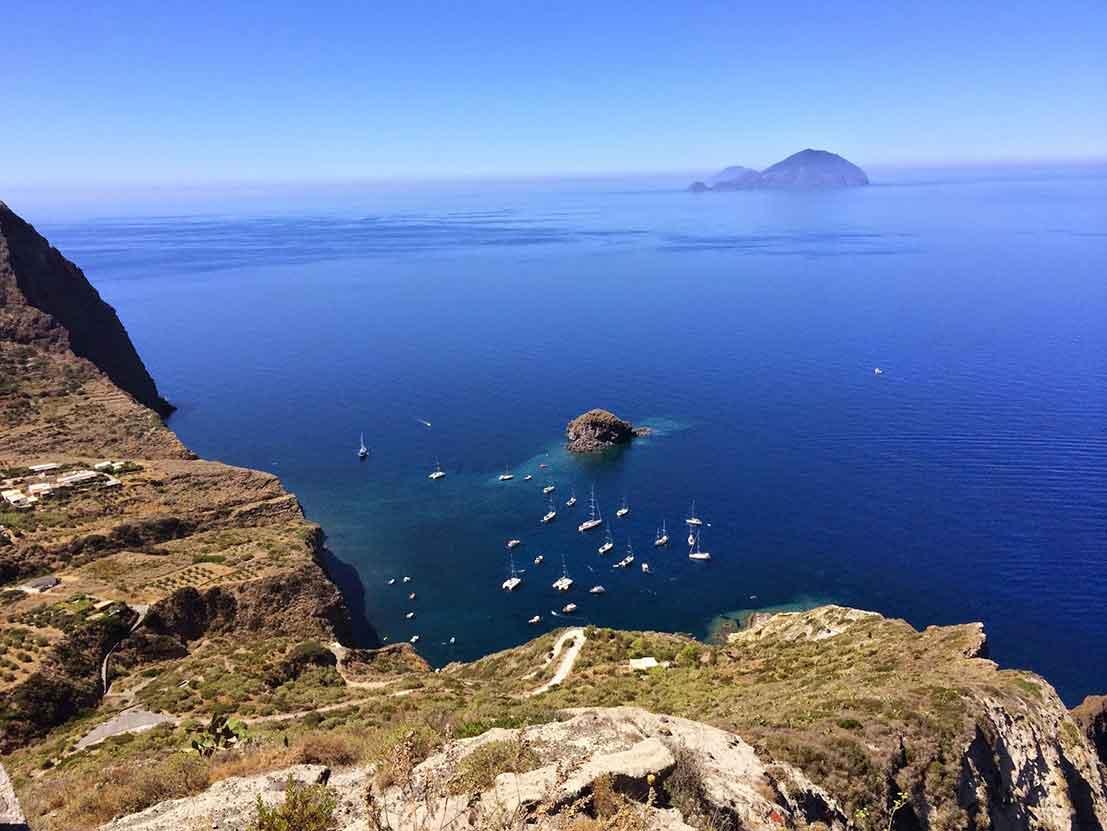 Salina Island Sicily