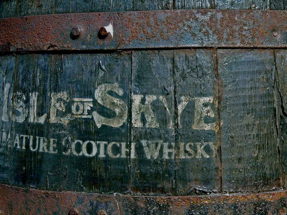 Scottish Whisky Isle of Skye
