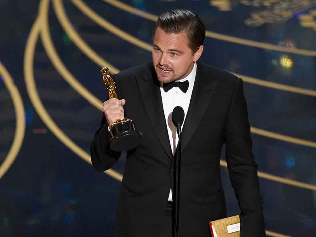 The Oscars Leonardo