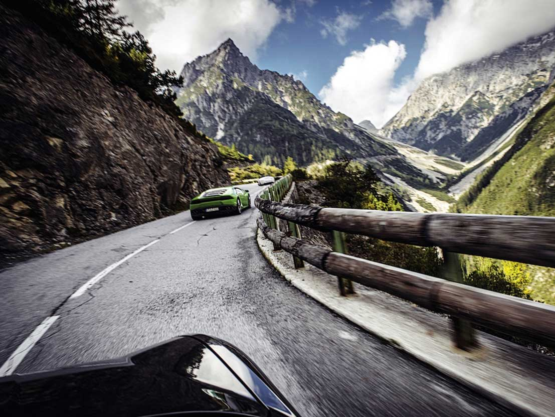 Rally Hahntennjoch Mountain Pass
